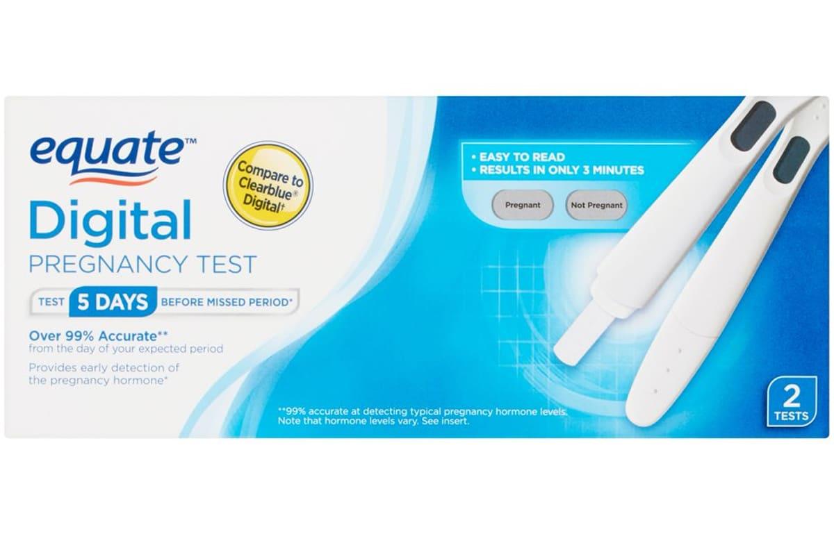 Equate Digital Pregnancy Test