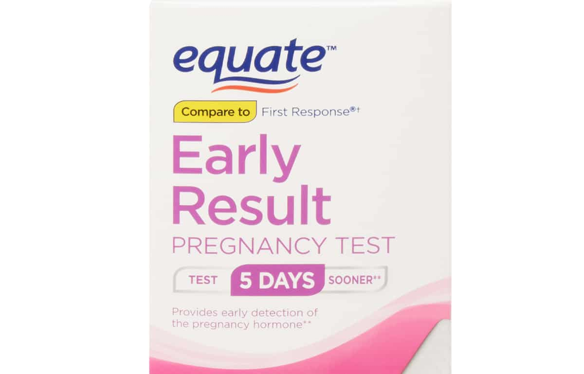 Equate Early Result Pregnancy TestEquate Early Result Pregnancy Test