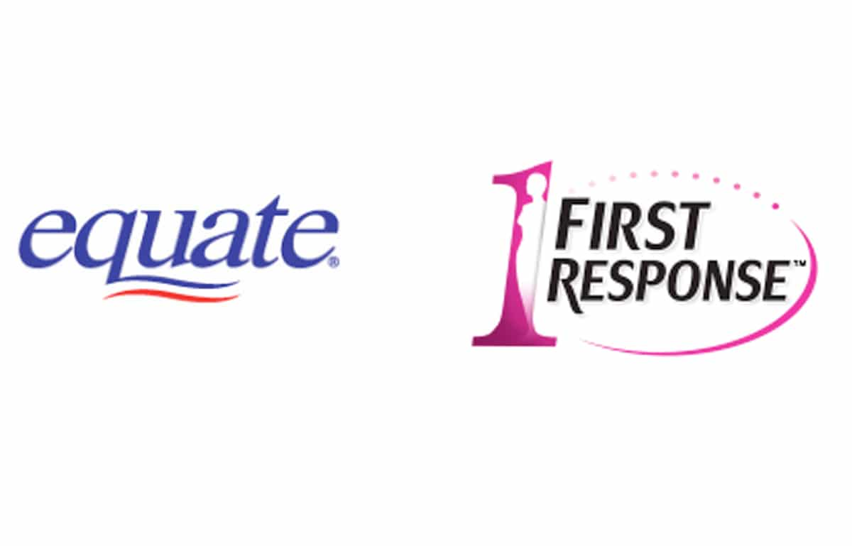 Equate vs First Response Pregnancy Test