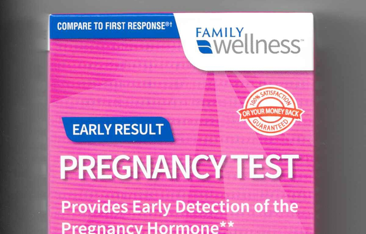 Family Dollar Pregnancy Test sensitivity