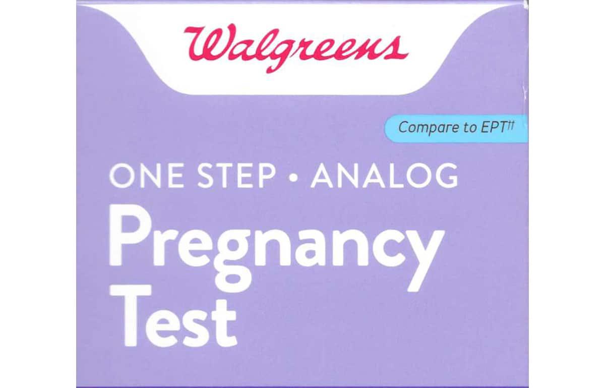 Walgreens One Step Analog Pregnancy Test Reviews