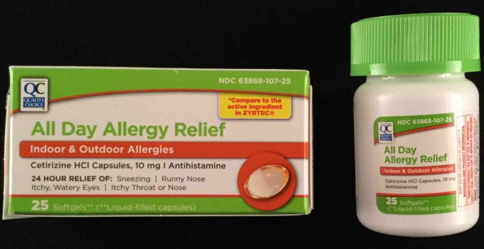 All Day Allergy Relief Cetirizine 10 mg