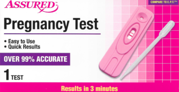 Assured Pregnancy Test from Dollar Tree