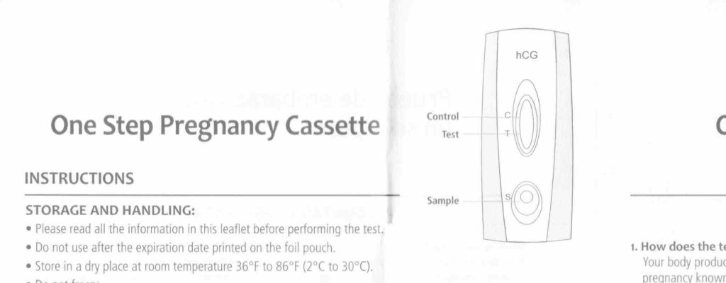 Dollar General Pregnancy Test Instructions Heres The Info You Want