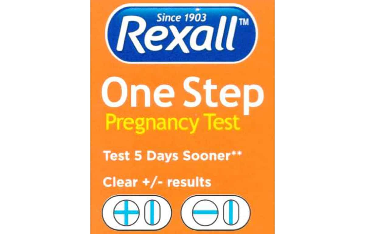 faint negative line on rexall pregnancy test